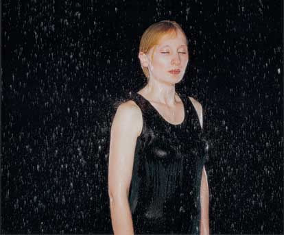 Rain #7, 2003 by Bettina von Zwehl